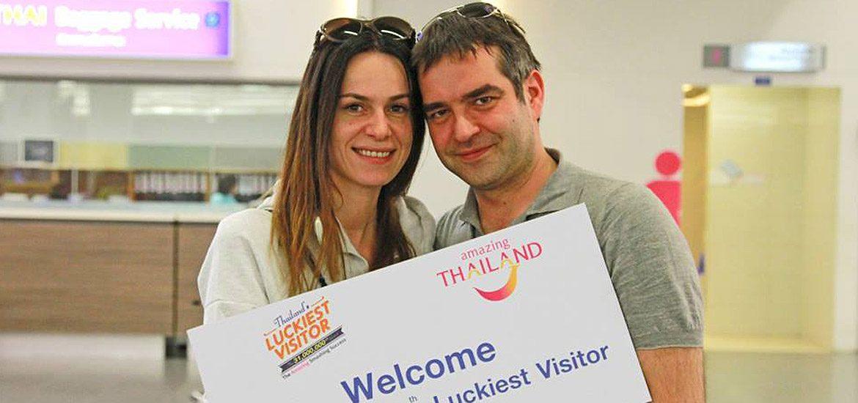 นักท่องเที่ยวคนที่ 31 ล้าน ที่เดินทางมากับเที่ยวบินที่ TG 927