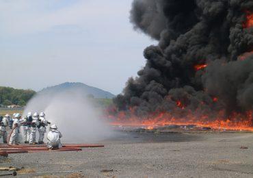 ทภก. ทำการฝึกซ้อมการดับเพลิงด้วยไฟจริงครั้งที่ 2/2561