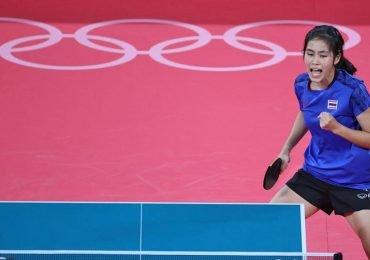 สุธาสินี ตกรอบเทเบิลเทนนิสโอลิมปิกเกมส์ โตเกียว 2020 แต่สร้างสถิติใหม่